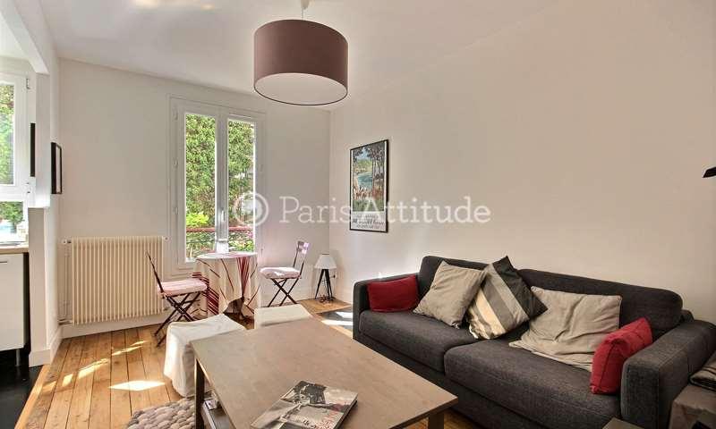 Rent Apartment 1 Bedroom 38m² rue Championnet, 18 Paris