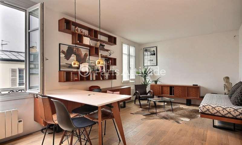 Location Appartement 1 Chambre 32m² rue Muller, 75018 Paris