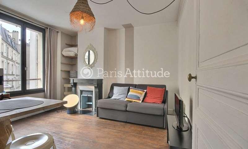 Rent Apartment Studio 17m² rue Frochot, 9 Paris