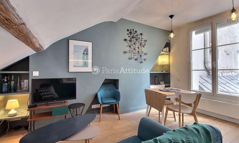 Rent Apartment 1 Bedroom 21m² rue Saint Lazare, 75009 Paris