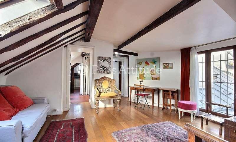 Rent Duplex 1 Bedroom 30m² rue de Verneuil, 75007 Paris