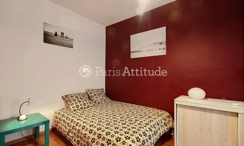 Rent Apartment Studio 19m² rue Bellot, 19 Paris