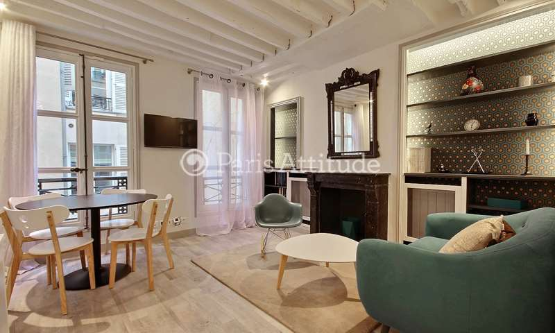 Rent Apartment 1 Bedroom 30m² rue Jacob, 6 Paris