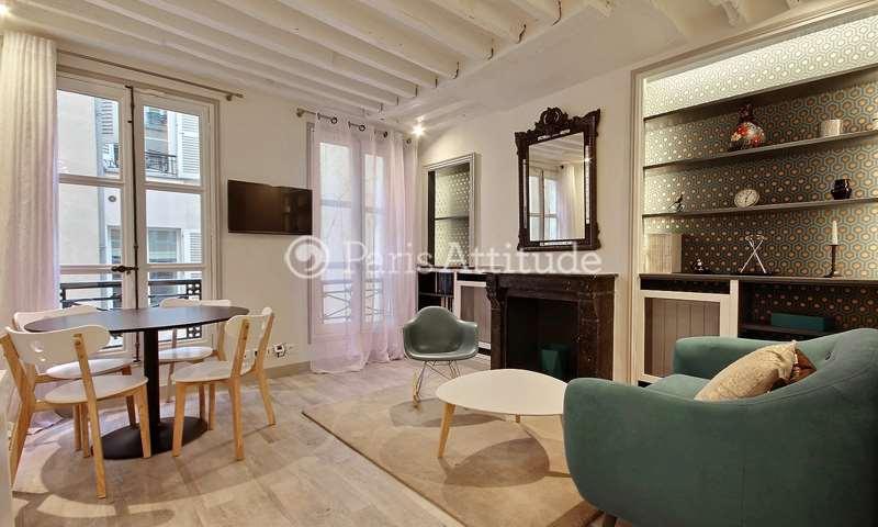 Rent Apartment 1 Bedroom 30m² rue Jacob, 75006 Paris