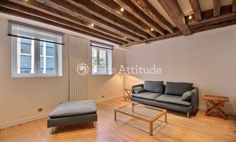 Location Appartement 1 Chambre 41m² rue des Fosses Saint Marcel, 5 Paris