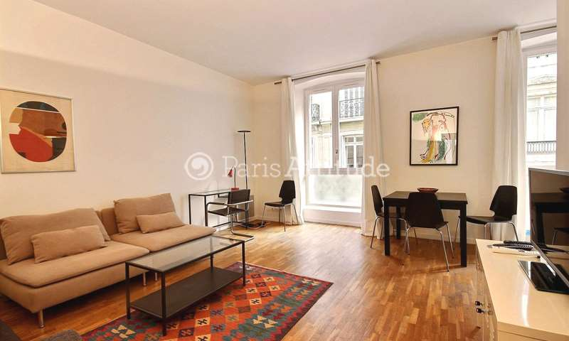 Rent Apartment 1 Bedroom 51m² rue Henner, 75009 Paris