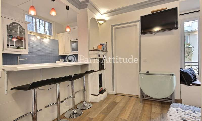 Rent Apartment 1 Bedroom 28m² rue La Vieuville, 18 Paris