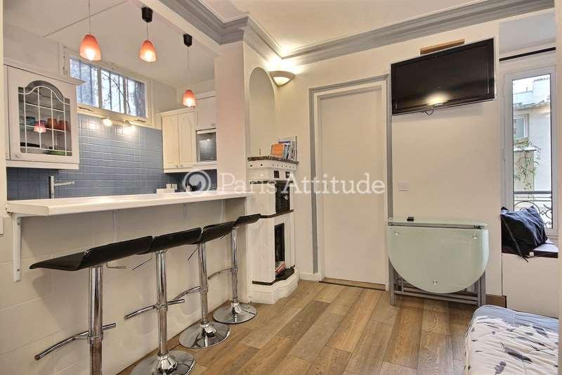 Louer Appartement meublé 1 Chambre 28m² rue La Vieuville, 75018 Paris