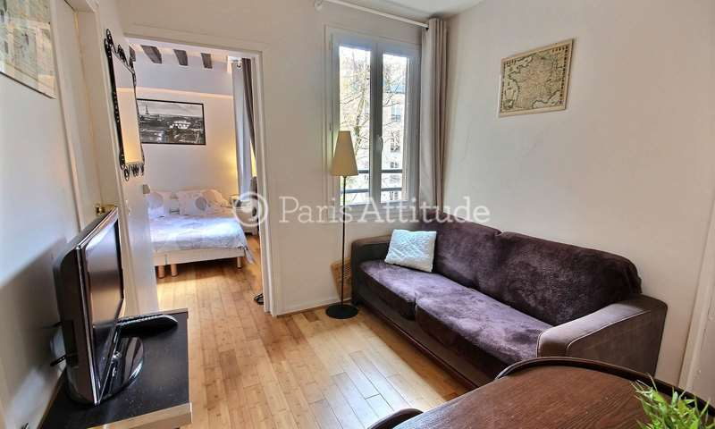 Rent Apartment 1 Bedroom 20m² rue du Pot de Fer, 75005 Paris