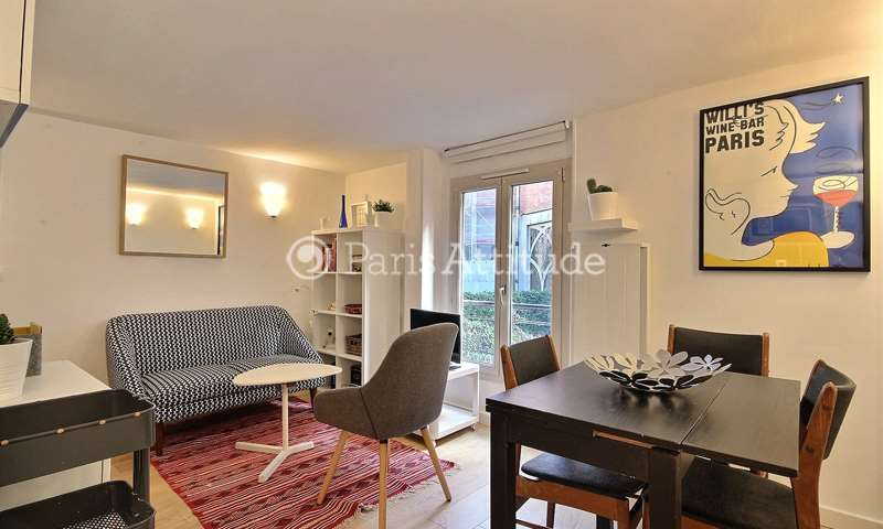 Rent Apartment 1 Bedroom 26m² rue Andre Antoine, 75018 Paris