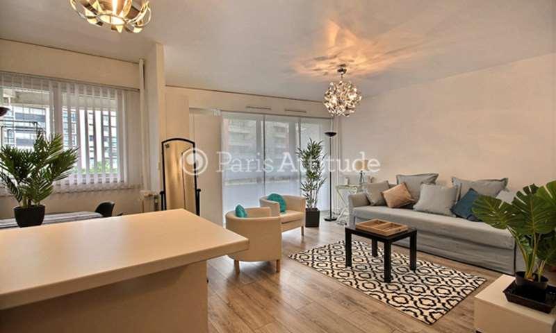 Rent Apartment Studio 33m² rue du Cotentin, 15 Paris