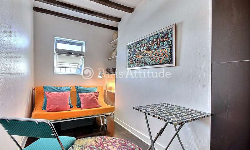 Rent Apartment Studio 15m² rue Pierre Lescot, 1 Paris