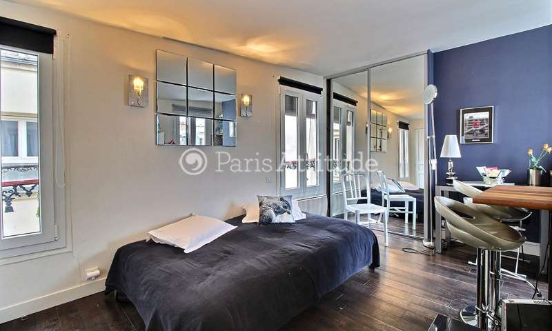 Rent Apartment 1 Bedroom 26m² rue Rambuteau, 4 Paris