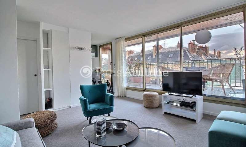 Rent Apartment Studio 35m² rue des Acacias, 75017 Paris