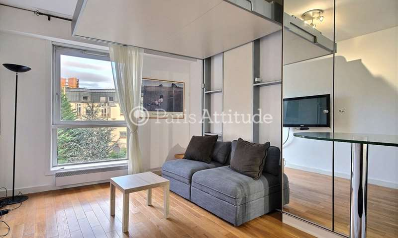 Rent Apartment Studio 22m² rue de Chaillot, 16 Paris
