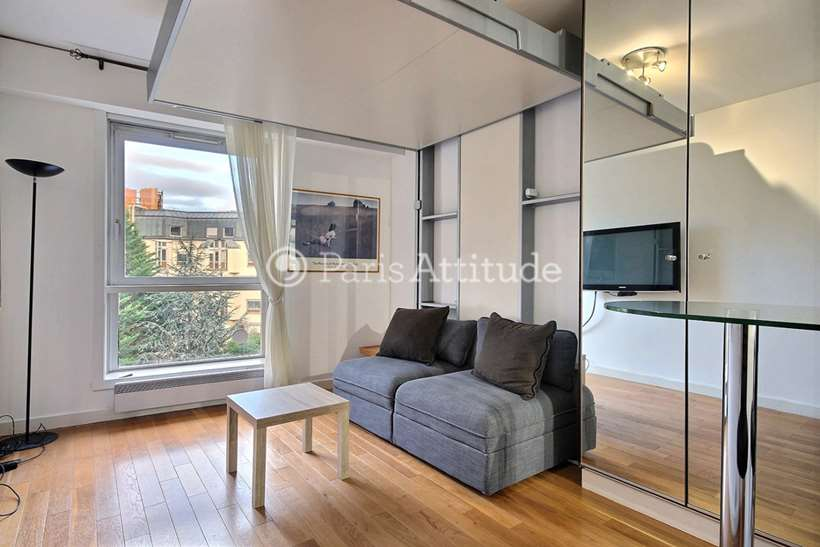 Rent furnished Apartment Studio 22m² rue de Chaillot, 75016 Paris