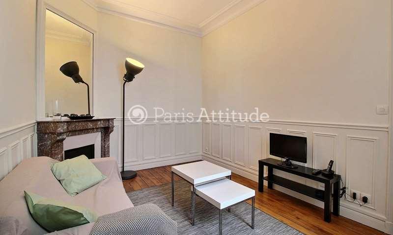 Location Appartement 1 Chambre 32m² rue Ernest Renan, 15 Paris