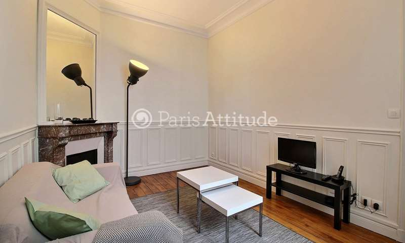 Rent Apartment 1 Bedroom 32m² rue Ernest Renan, 15 Paris