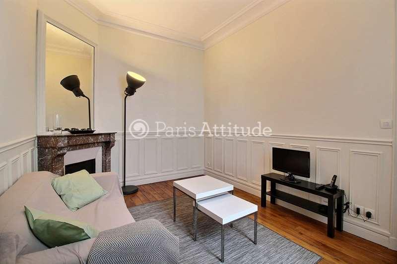 Rent furnished Apartment 1 Bedroom 32m² rue Ernest Renan, 75015 Paris