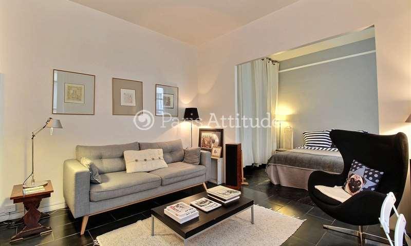 Rent Apartment Alcove Studio 35m² cour des Fabriques, 11 Paris