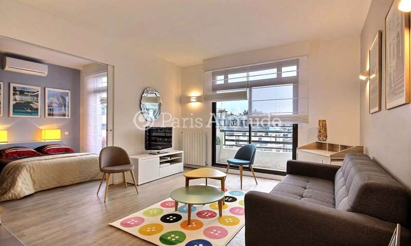Rent Apartment 1 Bedroom 37m² avenue Niel, 17 Paris