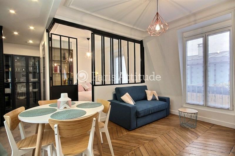 Location Appartement 1 Chambre 32m² rue etienne Marcel, 75001 Paris