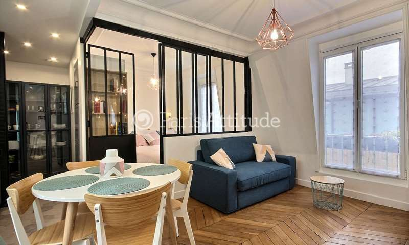 Rent Apartment 1 Bedroom 32m² rue etienne Marcel, 75001 Paris