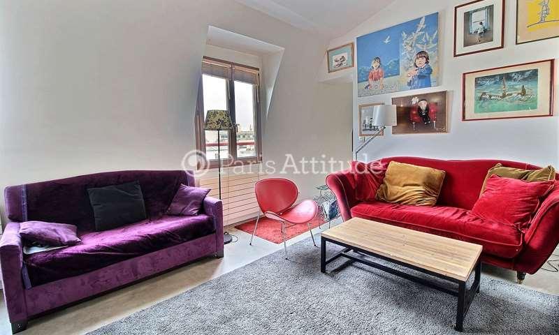 Rent Apartment 2 Bedrooms 65m² boulevard de Belleville, 11 Paris