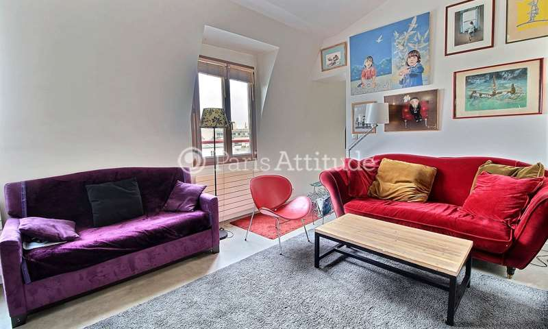 Rent Apartment 2 Bedrooms 65m² boulevard de Belleville, 75011 Paris