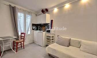 Rent Apartment Studio 15m² rue de Dunkerque, 9 Paris