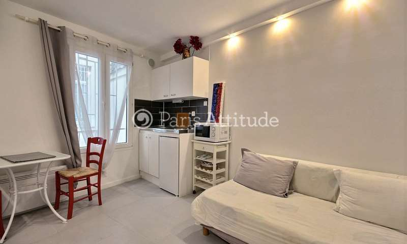 Location Appartement Studio 15m² rue de Dunkerque, 9 Paris