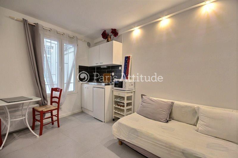 Louer Appartement meublé Studio 15m² rue de Dunkerque, 75009 Paris