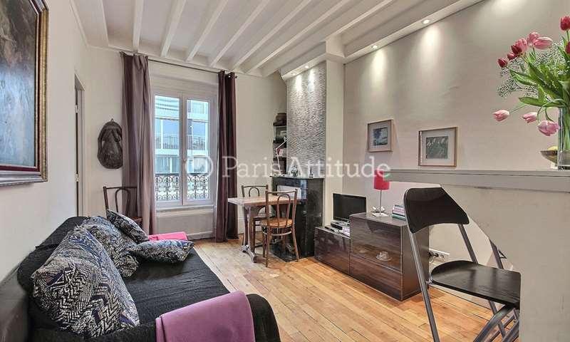 Aluguel Apartamento 1 quarto 27m² rue Damremont, 75018 Paris