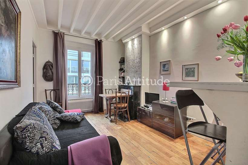 Rent furnished Apartment 1 Bedroom 27m² rue Damremont, 75018 Paris