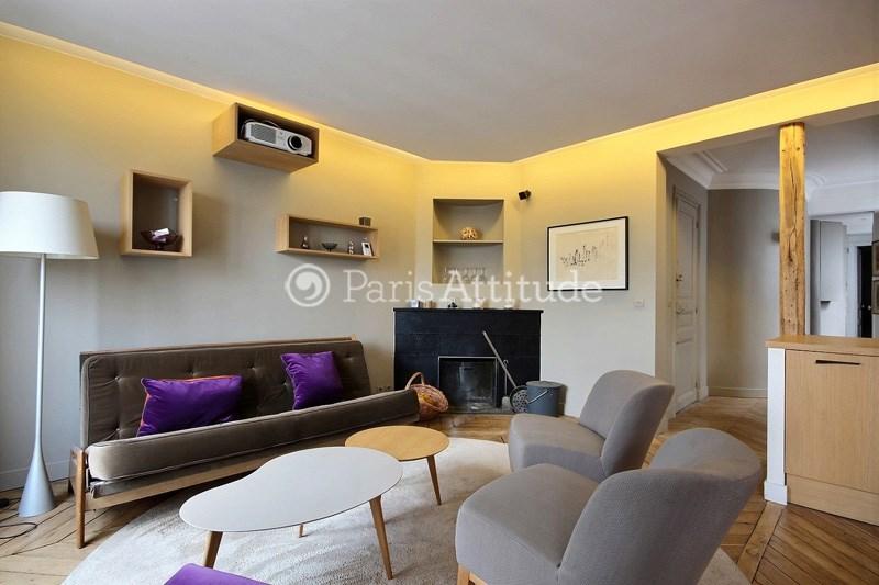 Location Appartement 1 Chambre 48m² rue Monge, 75005 Paris