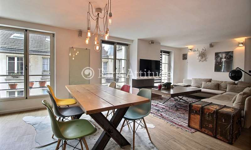 Rent Apartment 1 Bedroom 50m² rue de Charonne, 11 Paris