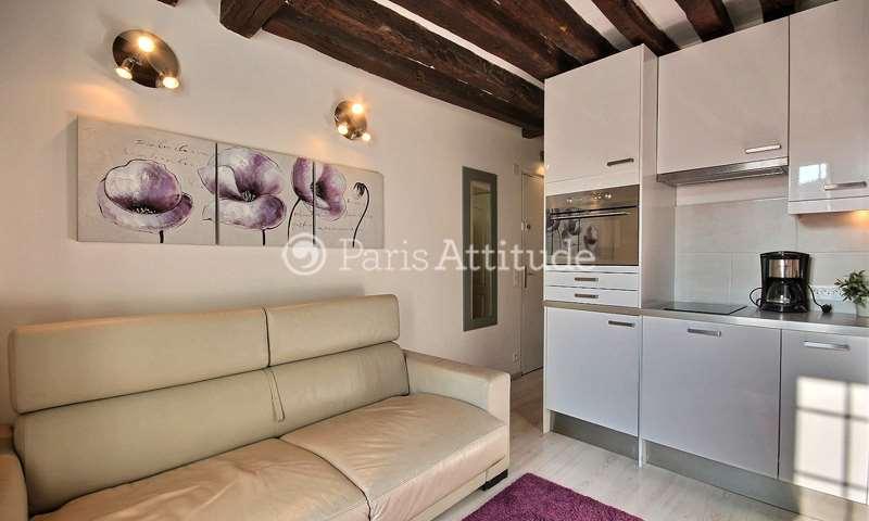 Rent Apartment Studio 16m² rue des Fosses Saint Jacques, 5 Paris
