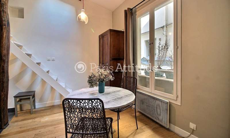 Rent Apartment Studio 17m² rue Rodier, 9 Paris