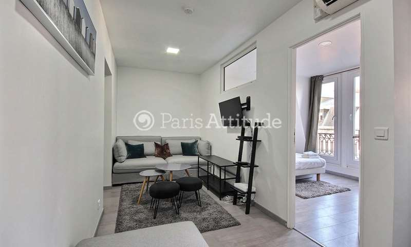 Rent Apartment 1 Bedroom 46m² rue Theodule Ribot, 75017 Paris