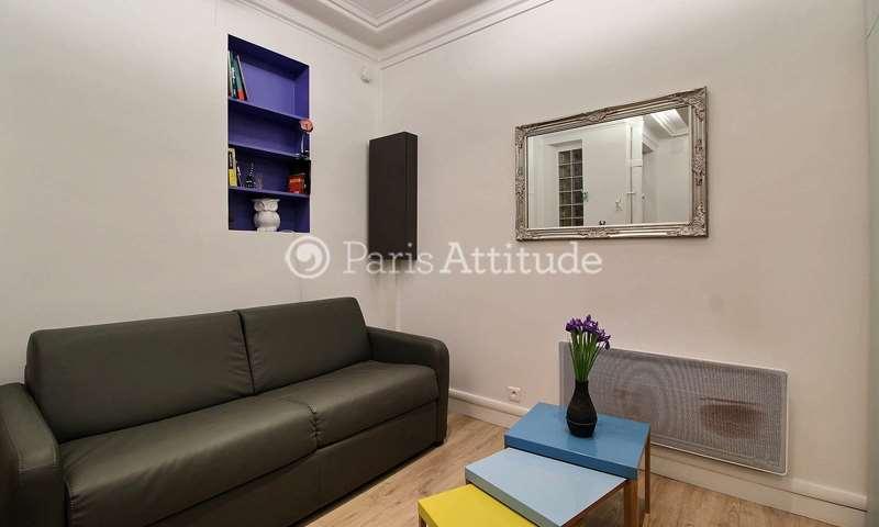 Rent Apartment Studio 17m² rue des Gatines, 75020 Paris