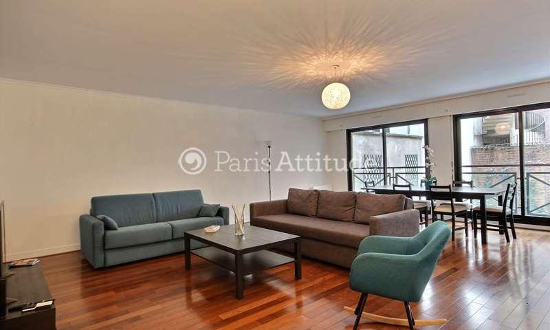 Rent Apartment 2 Bedrooms 106m² rue Gudin, 16 Paris