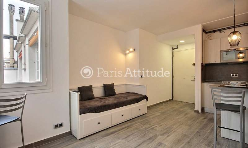 Rent Apartment Studio 22m² rue Jean Jacques Rousseau, 1 Paris