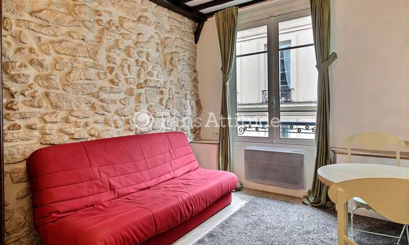 Rent Apartment Studio 20m² rue Saint Louis en l Île, 4 Paris