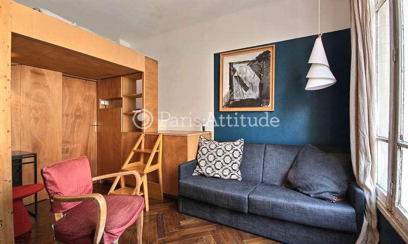 Rent Apartment Studio 19m² rue des Boulets, 11 Paris
