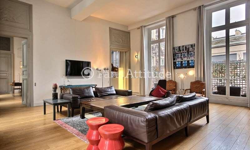 Rent Apartment 2 Bedrooms 150m² rue des Francs Bourgeois, 4 Paris
