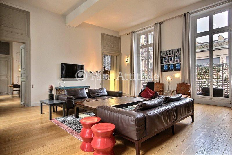 Rent furnished Apartment 2 Bedrooms 150m² rue des Francs Bourgeois, 75004 Paris