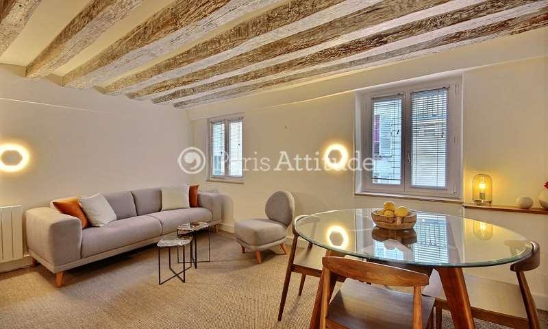 Rent Duplex 1 Bedroom 36m² rue de Bourgogne, 7 Paris