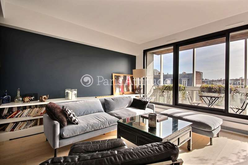 Rent furnished Apartment 3 Bedrooms 74m² avenue de Villiers, 75017 Paris