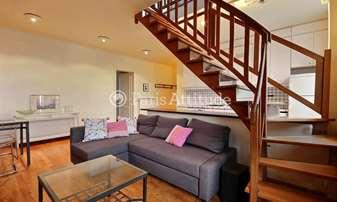 Rent Duplex 2 Bedrooms 80m² rue des Francs Bourgeois, 4 Paris