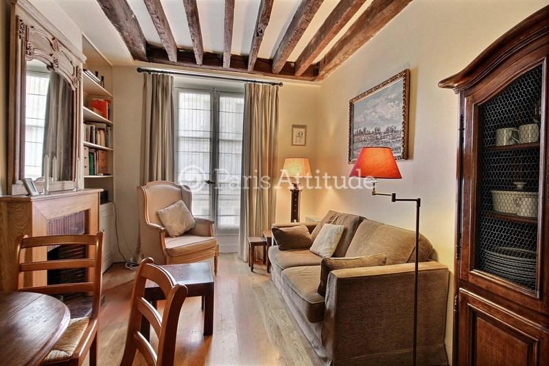 Rent Apartment 1 Bedroom 33m² rue Brea, 75006 Paris
